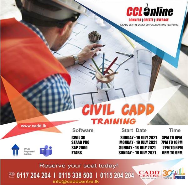 Civil CAD Training Schedule