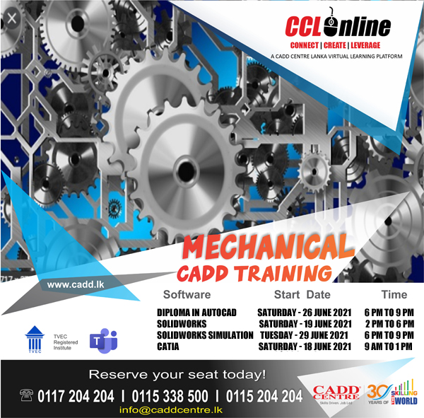 Mechanical CAD Training Schedule