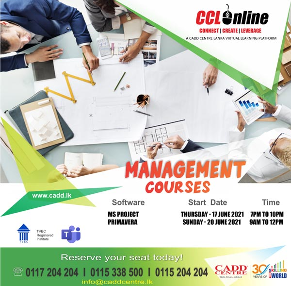 Project Management Training Calendar