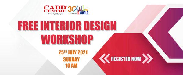 Free Workshop on Interior Design