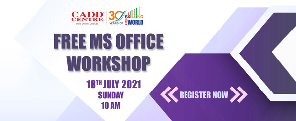 Free Workshop on MS Office
