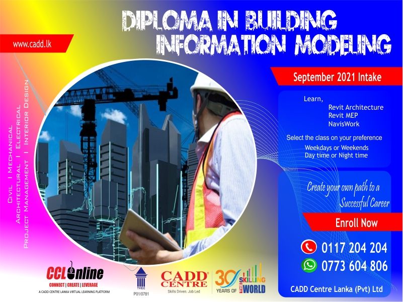 Diploma In Building Information Modeling
